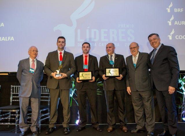 A Aurora foi reconhecida como Líder em Agronegócio no estado de Santa Catarina (Crédito da foto - José Somensi)